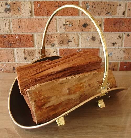 Long Basket for Wood