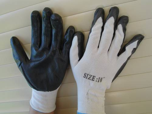 white gloves for firewood