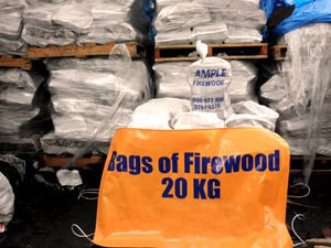 Bags of Firewood 20 kg